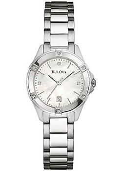 Bulova Часы Bulova 96W205. Коллекция Diamonds bulova часы bulova 97s114 коллекция diamonds