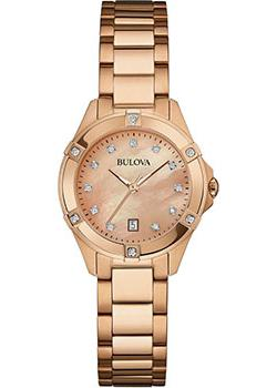 Bulova Часы Bulova 97W101. Коллекция Diamonds bulova часы bulova 96a191 коллекция automatic