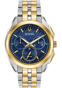 Bulova Часы Bulova 98A159. Коллекция CURV bulova часы bulova 96a191 коллекция automatic