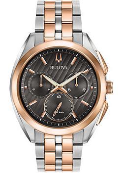 Bulova Часы Bulova 98A160. Коллекция CURV bulova часы bulova 96a191 коллекция automatic