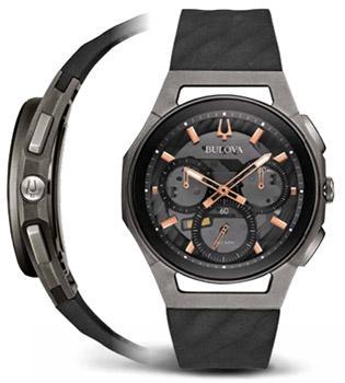 цена Bulova Часы Bulova 98A162. Коллекция CURV