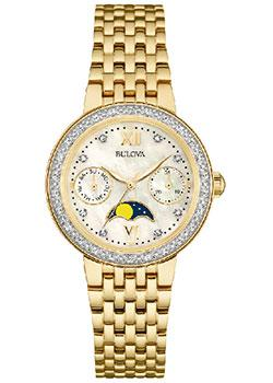 Bulova Часы Bulova 98R224. Коллекция Diamonds bulova часы bulova 96a191 коллекция automatic