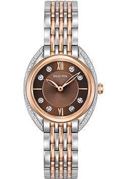 Bulova Часы Bulova 98R230. Коллекция Diamonds цены онлайн