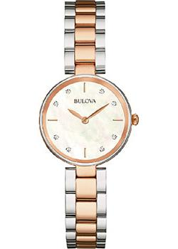 Bulova Часы Bulova 98S147. Коллекция Diamonds bulova часы bulova 97s114 коллекция diamonds