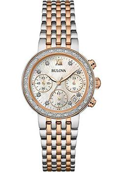 Bulova Часы Bulova 98W215. Коллекция Diamonds bulova часы bulova 96w207 коллекция diamonds