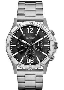 Caravelle New York Часы 43A115. Коллекция Mens Collection