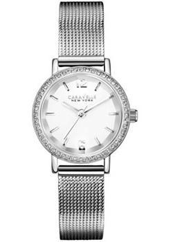 купить Caravelle New York Часы Caravelle New York 43L170. Коллекция Ladies Collecion дешево