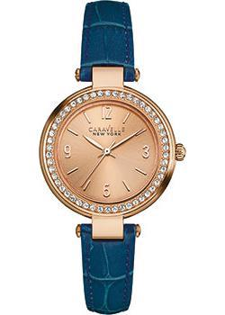 Caravelle New York Часы Caravelle New York 44L178. Коллекция Ladies Collecion