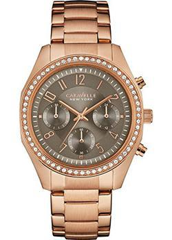 Caravelle New York Часы Caravelle New York 44L195. Коллекция Ladies Collecion цена