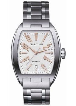Cerruti 1881 Часы Cerruti 1881 CT60281X403031. Коллекция Tonneau Automatic мужские часы cerruti 1881 cra011f224c