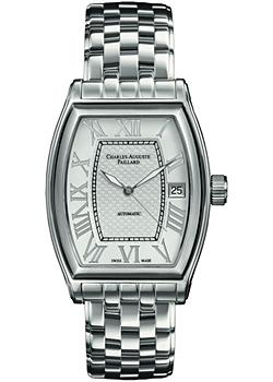 Charles Auguste Paillard Часы Charles Auguste Paillard 101.101.11.16B. Коллекция Classic Tonneau сумка charles