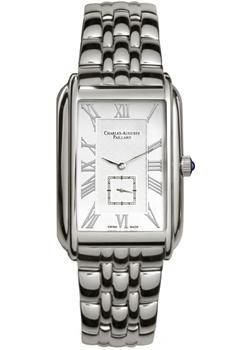 Charles Auguste Paillard Часы Charles Auguste Paillard 102.200.11.16B. Коллекция Rectangular Quartz часы charles auguste paillard