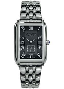 Charles Auguste Paillard Часы Charles Auguste Paillard 102.200.11.36B. Коллекция Rectangular Quartz часы charles auguste paillard
