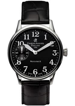 Charles Auguste Paillard Часы Charles Auguste Paillard 104.302.11.30S. Коллекция Watch Art II все цены