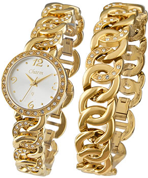 Charm Часы Charm 51186155. Коллекция Кварцевые женские часы