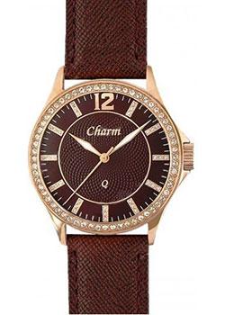 Charm Часы Charm 70259325. Коллекция Кварцевые женские часы часы женские из розового золота 91811