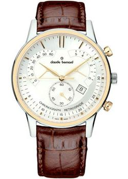 Claude Bernard Часы Claude Bernard 01506-357RAIR. Коллекция Classic Chronograph Retrograde все цены