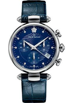 Claude Bernard Часы Claude Bernard 10215-3BUIFN2. Коллекция Dress code Chronograph платье серое catimini ут 00003446