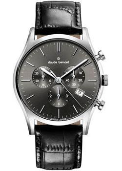 Claude Bernard Часы Claude Bernard 10218-3NIN. Коллекция Classic Gents Chronograph цена 2017