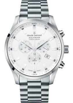 цена Claude Bernard Часы Claude Bernard 10222-3MAIN. Коллекция Aquarider онлайн в 2017 году