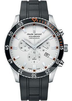 Claude Bernard Часы Claude Bernard 10223-3NOCAAO. Коллекция Aquarider цена и фото