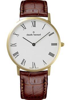 Claude Bernard Часы Claude Bernard 20202-37JBR. Коллекция Classic Slim Line цена и фото