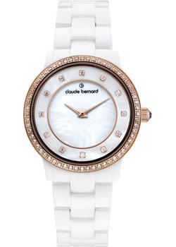 Claude Bernard Часы Claude Bernard 20203-BRB. Коллекция Dress code Ceramic with stones все цены