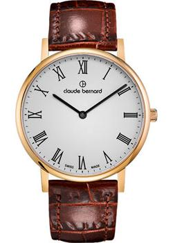 Claude Bernard Часы Claude Bernard 20214-37JBR. Коллекция Classic Slim Line 1m 1 8m 3m 5m digital monitor dvi d to dvi d gold male 24 1 pin dual link tv cable for tft monitor fw1s
