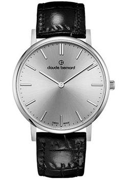 Claude Bernard Часы Claude Bernard 20214-3AIN. Коллекция Classic Slim Line цена и фото