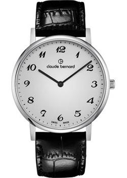 Claude Bernard Часы Claude Bernard 20214-3BB. Коллекция Classic Slim Line claude bernard часы claude bernard 20215 37jbr коллекция classic ladies slim line