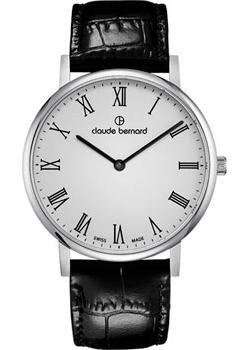 Claude Bernard Часы Claude Bernard 20214-3BR. Коллекция Classic Slim Line цена и фото