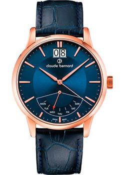 Claude Bernard Часы Claude Bernard 41001-37RBUIR. Коллекция Classic Gents Big Date Retrograde Day