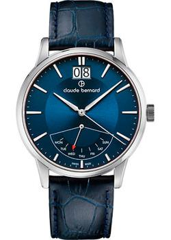 Claude Bernard Часы Claude Bernard 41001-3BUIN. Коллекция Classic Gents Big Date Retrograde Day цена и фото