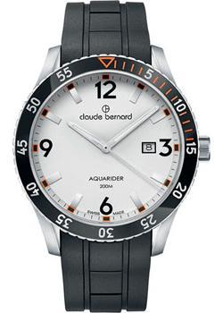 Claude Bernard Часы Claude Bernard 53008-3NOCAAO. Коллекция Aquarider цена и фото