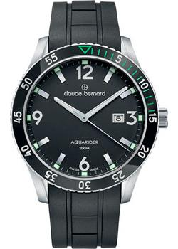 Claude Bernard Часы Claude Bernard 53008-3NVCANV. Коллекция Aquarider цена и фото