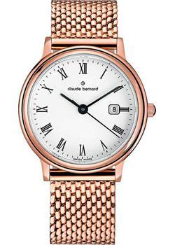 Claude Bernard Часы Claude Bernard 54005-37RMBR. Коллекция Classic Ladies Date цена и фото