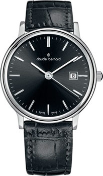 Claude Bernard Часы Claude Bernard 54005-3NIN. Коллекция Classic Ladies Date женские часы claude bernard 54003 3nin