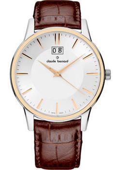 купить Claude Bernard Часы Claude Bernard 63003-357RAIR. Коллекция Classic Gents Big Date по цене 17000 рублей