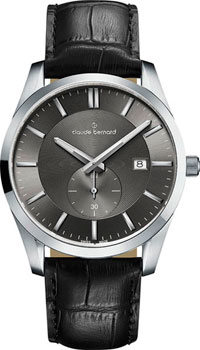 Claude Bernard Часы Claude Bernard 65001-3NIN2. Коллекция Classic Gents Big Date Small Second