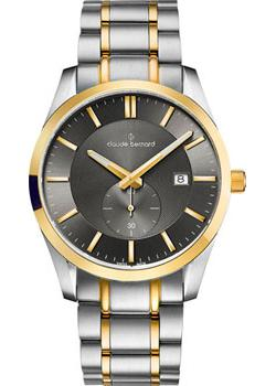 Claude Bernard Часы Claude Bernard 65002-357JGID2. Коллекция Classic Gents Big Date Small Second цена и фото