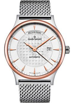 Claude Bernard Часы Claude Bernard 83014-357RMAIR. Коллекция Classic Automatic day-date tevise automatic mechanical tourbillon watch men luxury auto date day month stainless steel mens wristwatch horloges mannen