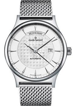 Claude Bernard Часы Claude Bernard 83014-3MAIN. Коллекция Classic Automatic day-date tevise automatic mechanical tourbillon watch men luxury auto date day month stainless steel mens wristwatch horloges mannen