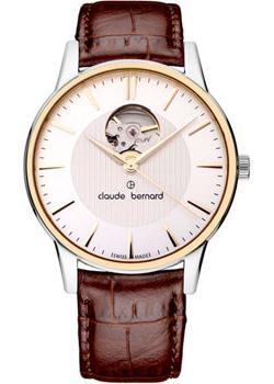 Claude Bernard Часы Claude Bernard 85017-357RAIR. Коллекция Classic Automatic Open Heart everswiss часы everswiss 2787 lbkbk коллекция classic
