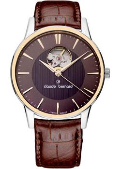 Claude Bernard Часы Claude Bernard 85017-357RBRIR. Коллекция Classic Automatic Open Heart claude bernard часы claude bernard 85022 3apn коллекция dress code automatic open heart