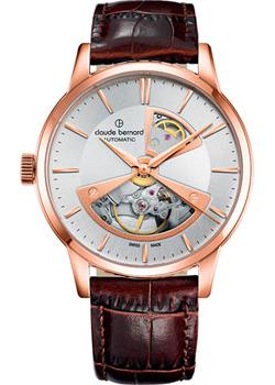 Claude Bernard Часы Claude Bernard 85017-37RAIR2. Коллекция Classic Automatic Open Heart claude bernard часы claude bernard 85022 3apn коллекция dress code automatic open heart