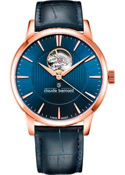Claude Bernard Часы Claude Bernard 85017-37RBUIR. Коллекция Classic Automatic Open Heart claude bernard часы claude bernard 85017 3ar коллекция classic automatic open heart