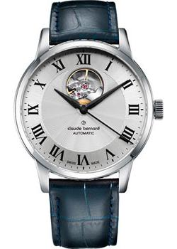 Claude Bernard Часы Claude Bernard 85017-3AR. Коллекция Classic Automatic Open Heart claude bernard часы claude bernard 85022 3apn коллекция dress code automatic open heart
