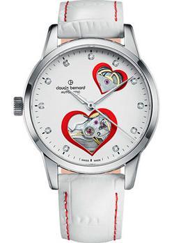 Claude Bernard Часы Claude Bernard 85018-3BPRON. Коллекция Classic Automatic Open Heart цена и фото