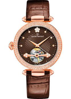 цена Claude Bernard Часы Claude Bernard 85023-37RPBRPR. Коллекция Dress Code Automatic Open Heart
