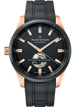 Claude Bernard Часы Claude Bernard 85026-37RNCANIR. Коллекция Aquarider Automatic цена